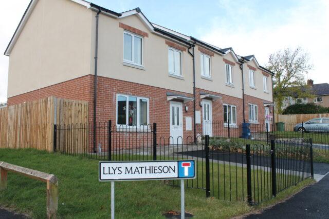 Houses at Llys Mathieson, Maesgierchen