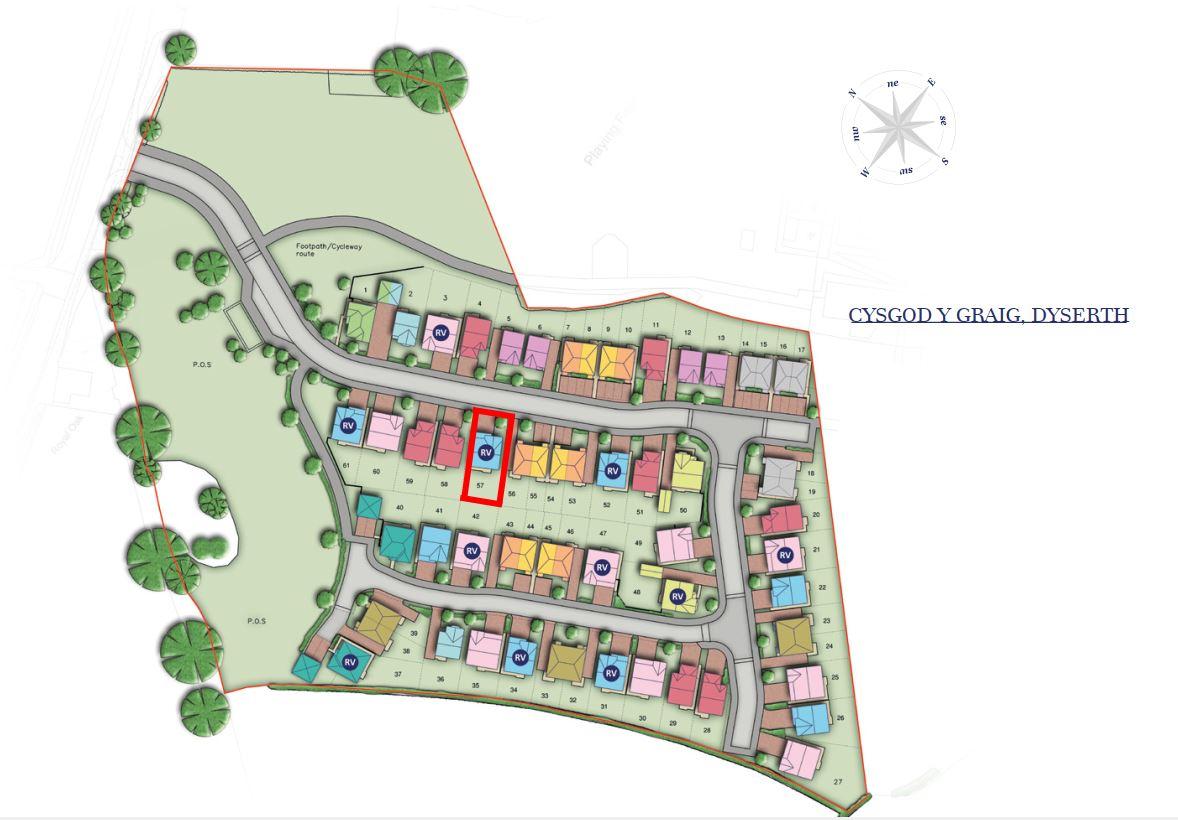 Carousel Slide 3 for Plot 57, 10 Maes Cwyfan, Dyserth